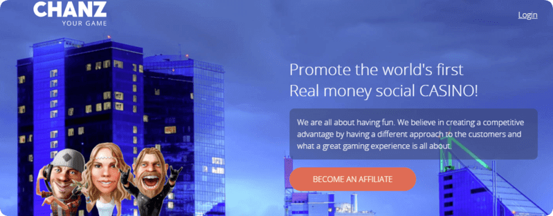 chanz affiliates welcome